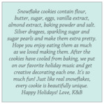 Snowflake Policy square text labels