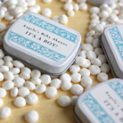 baptism shower mint tins