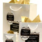 holiday gift bags and boxes