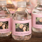 wedding bottled water