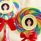 giant lollipops favor