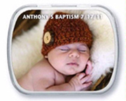 Anthony mint tin Baptism