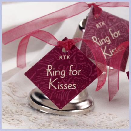 Evermine Kissing Bells Wedding Favor Idea