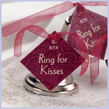 Evermine Kissing Bells Wedding Favor Idea