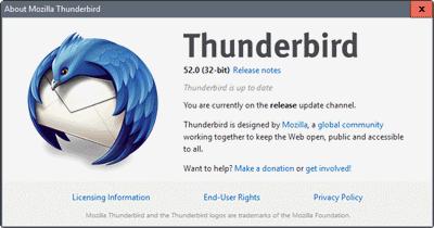 Mozilla Thunderbird free download Screenshot