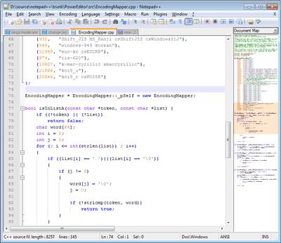 Notepad++ Free Download Screenshot