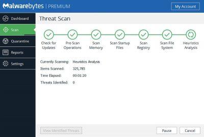 Mlawarebytes free download Screenshot