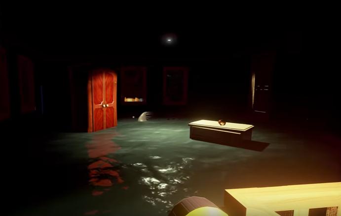 Hello Neighbor Alpha 1 Flooded Room Screenshot