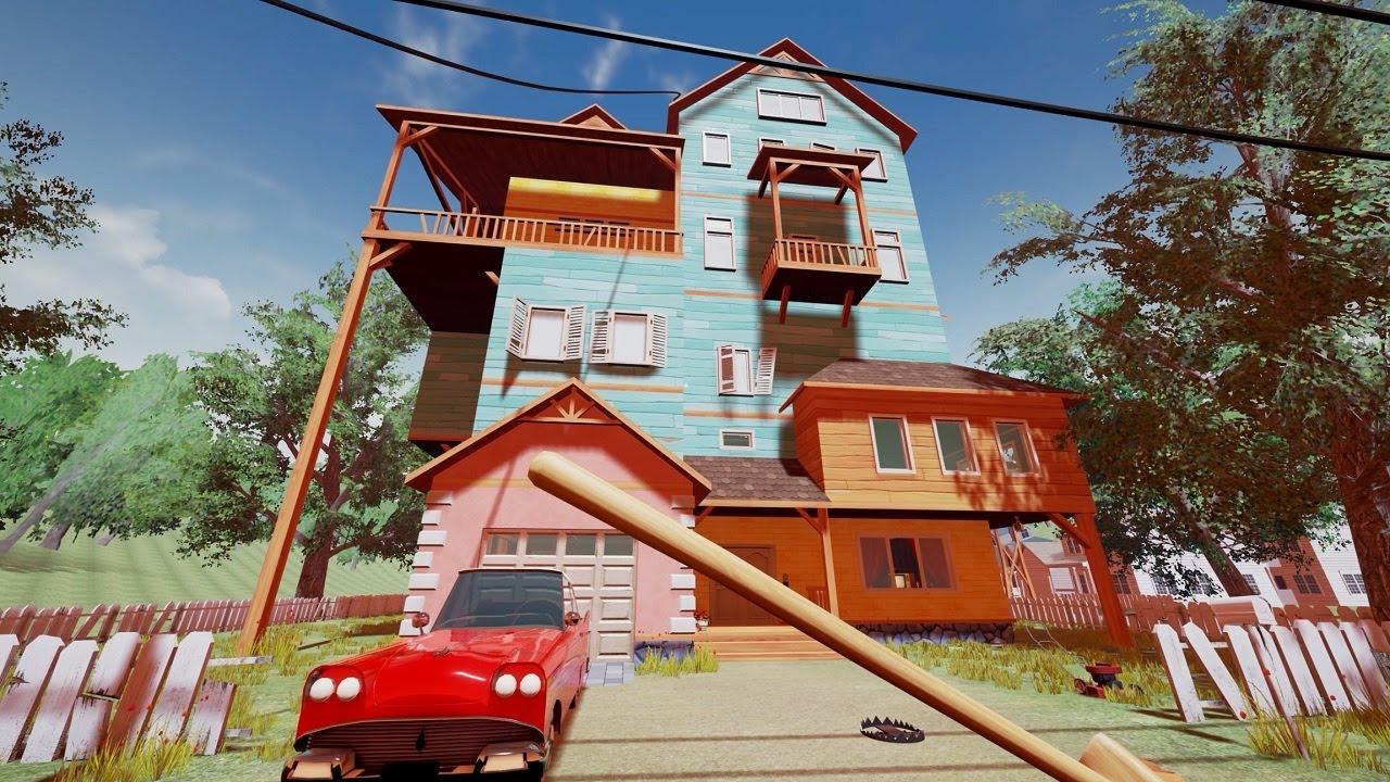 Hello Neighbor Alpha 1 House Screenshot