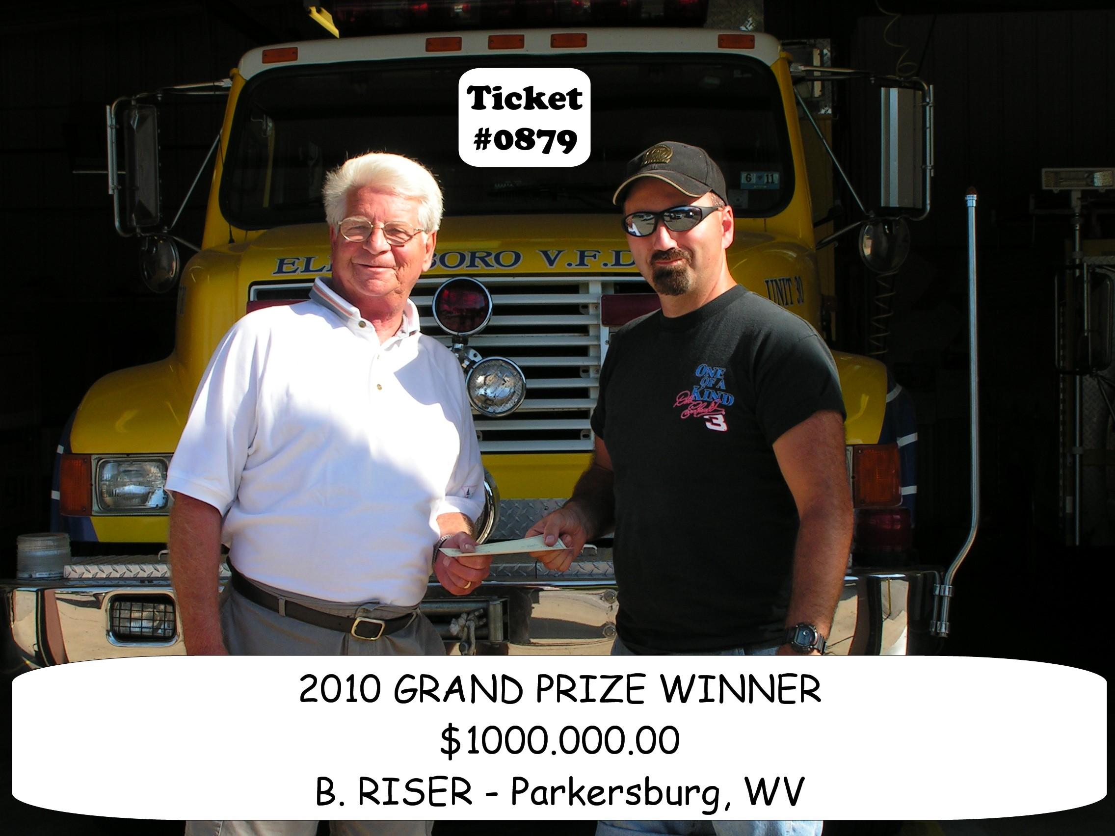 2010 Grand Prize Winner Bob Riser