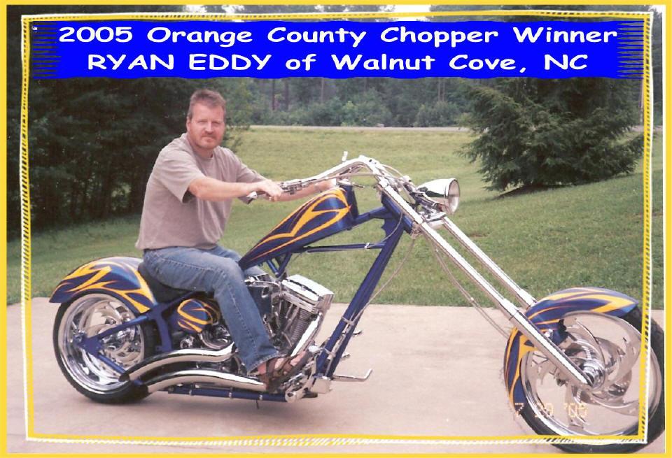 2005 Chopper Winner Ryan Eddy