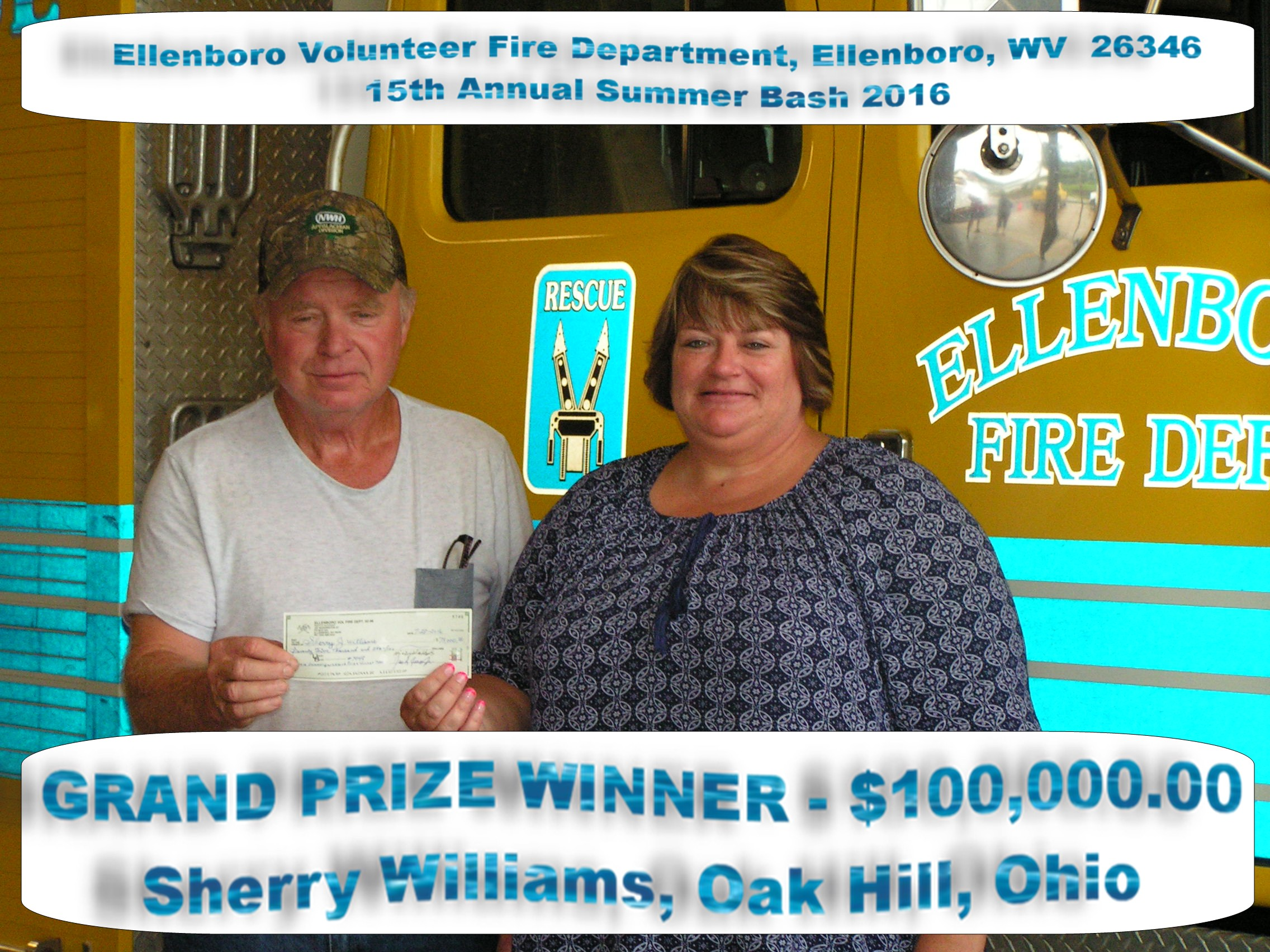 2016 Grand Prize Winner S. Williams