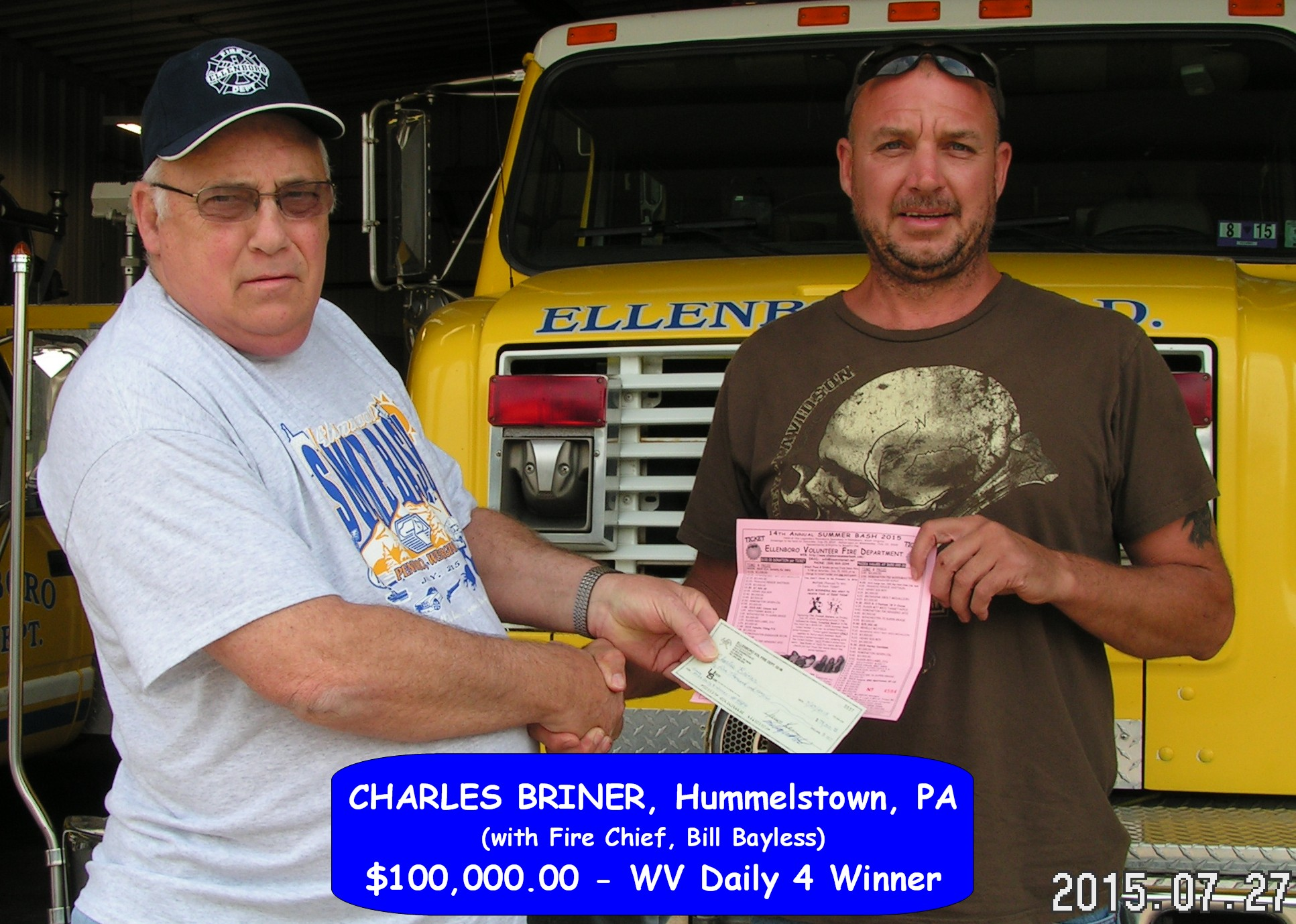 2015 Grand Prize Winner C. Briner