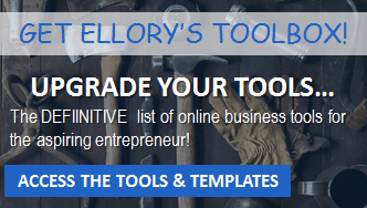 Ellory's Tools for Blogging, marketing, starting a podcast, starting a blog, email marketing and more