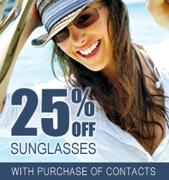 6643a40af61 25% Off Sunglasses. With purchase of annual supply ...