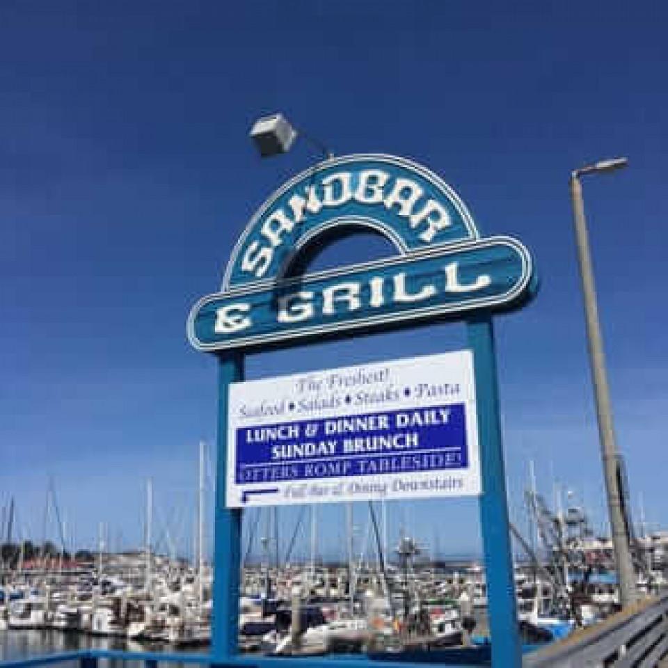 Sand Bar & Grill logo