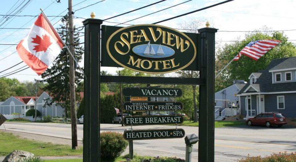 Sea View Motel logo