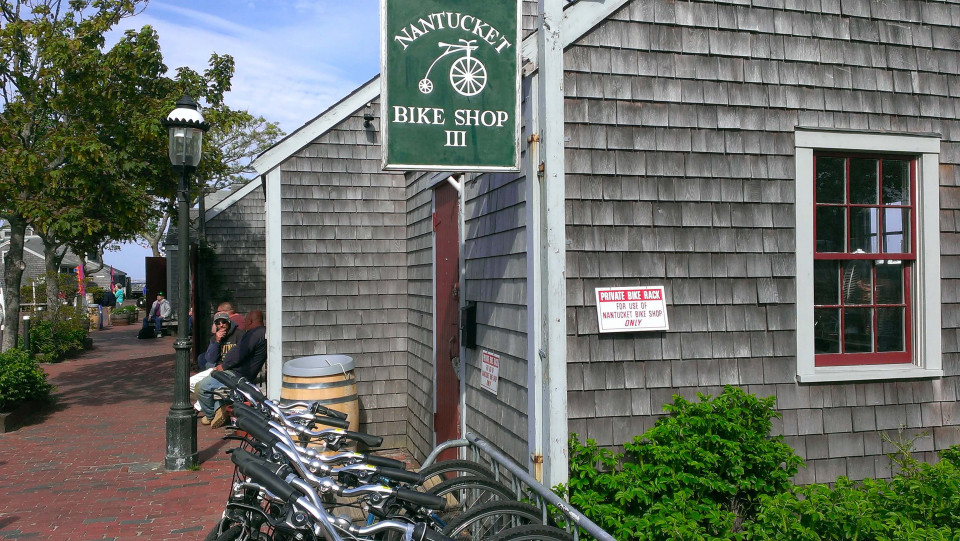 Nantucket Bike Shop logo