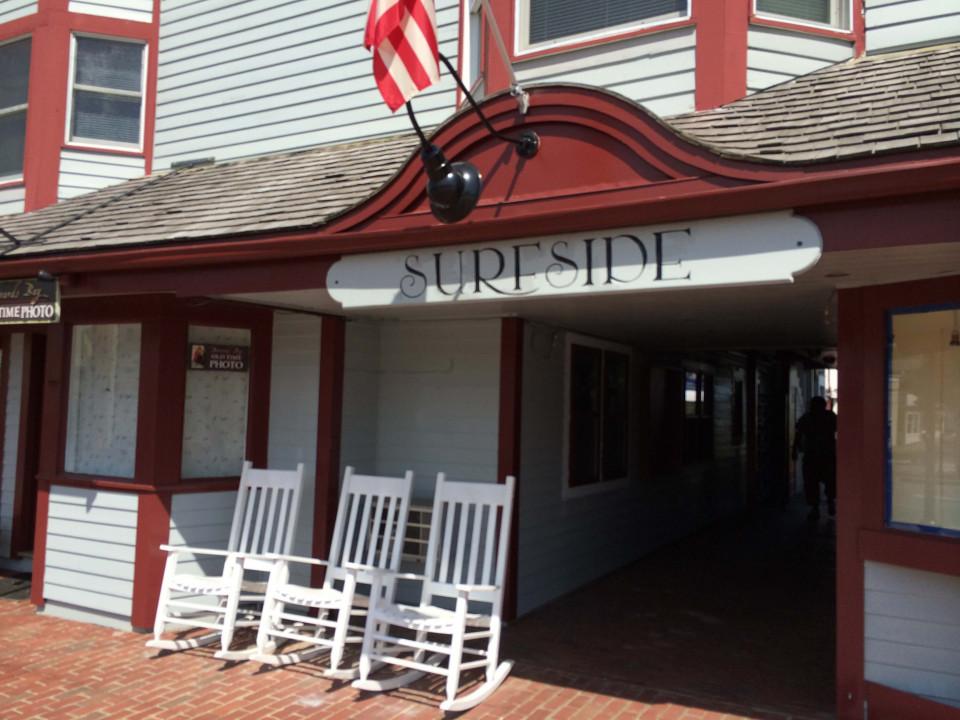 Surfside motel Oak Bluffs logo