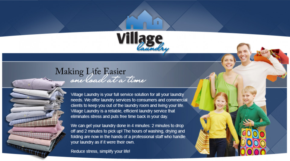 Village Laundry logo