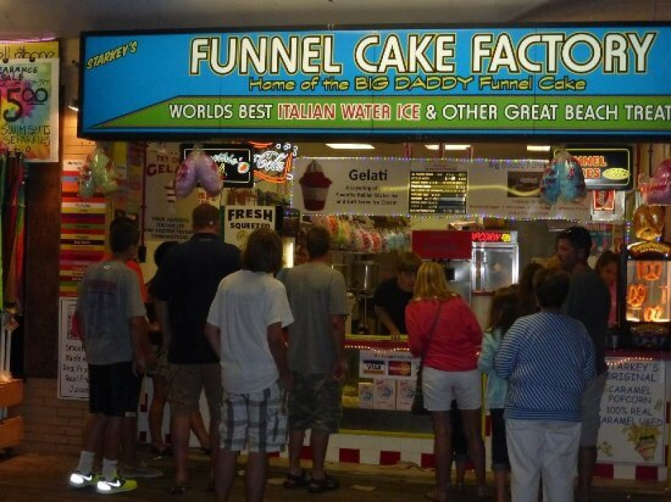 Funnel Cake Factory logo