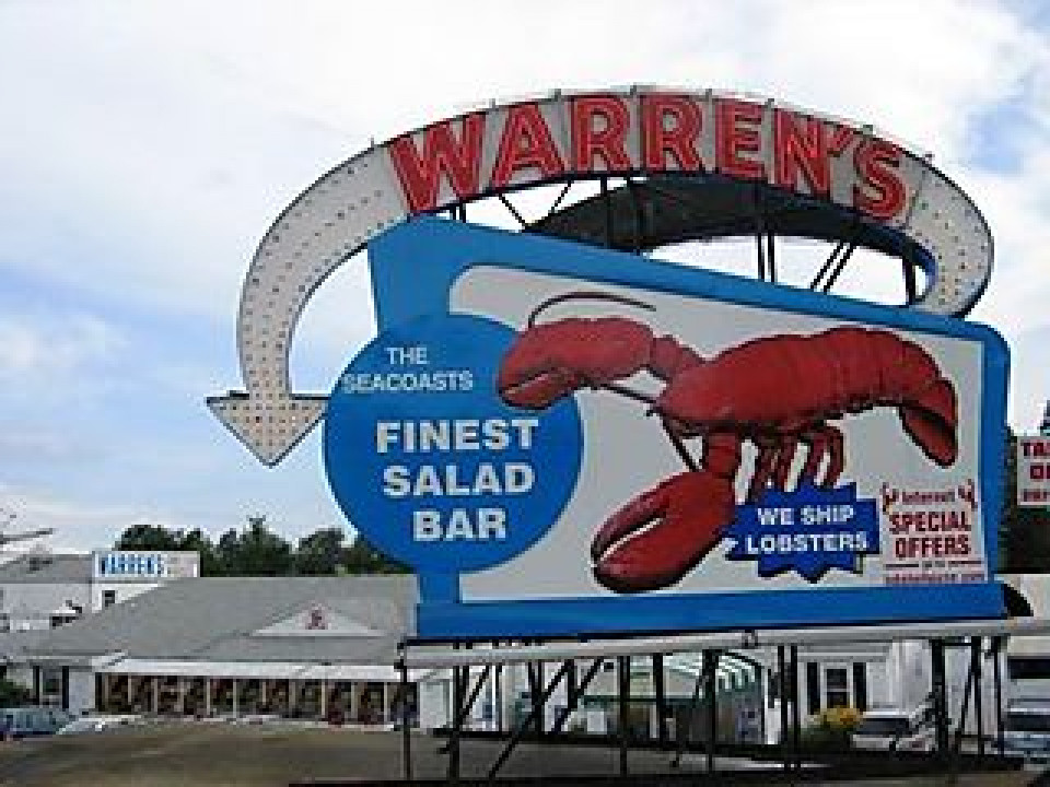 Warrens Lobster House logo