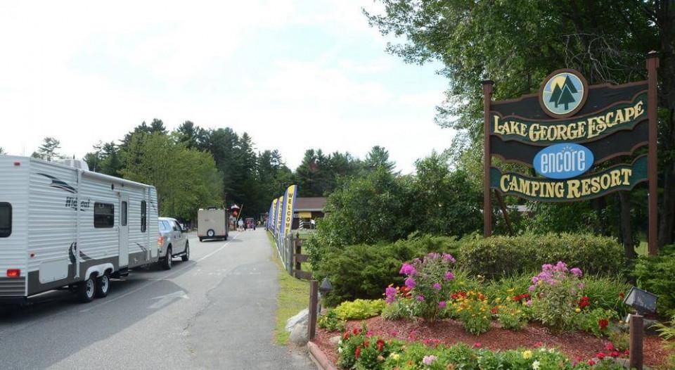 Lake george rv park logo