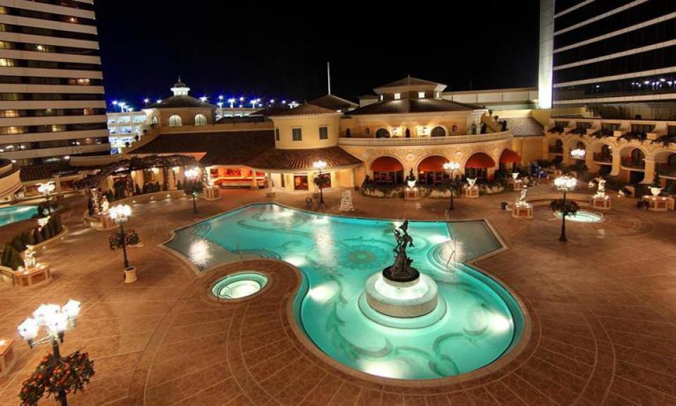 Peppermill Resort Spa Casino logo