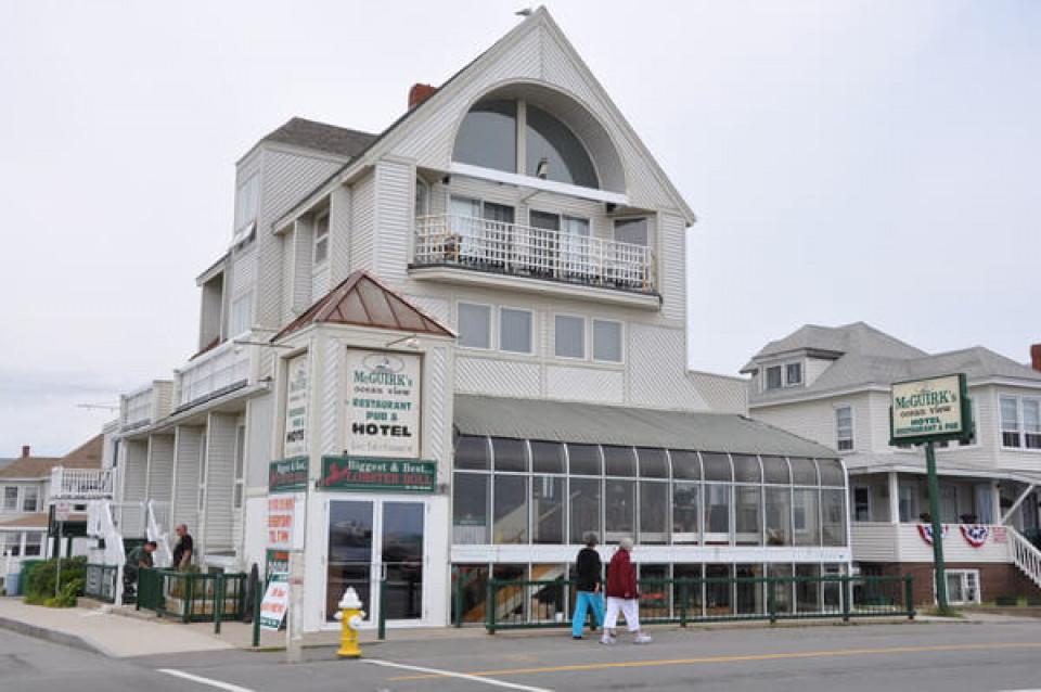 McGuirk's Oceanview restaurant logo