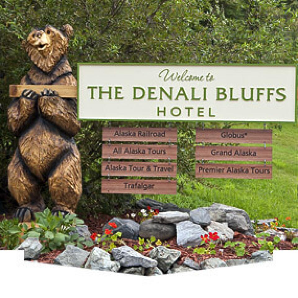 Denali Bluffs Hotel logo