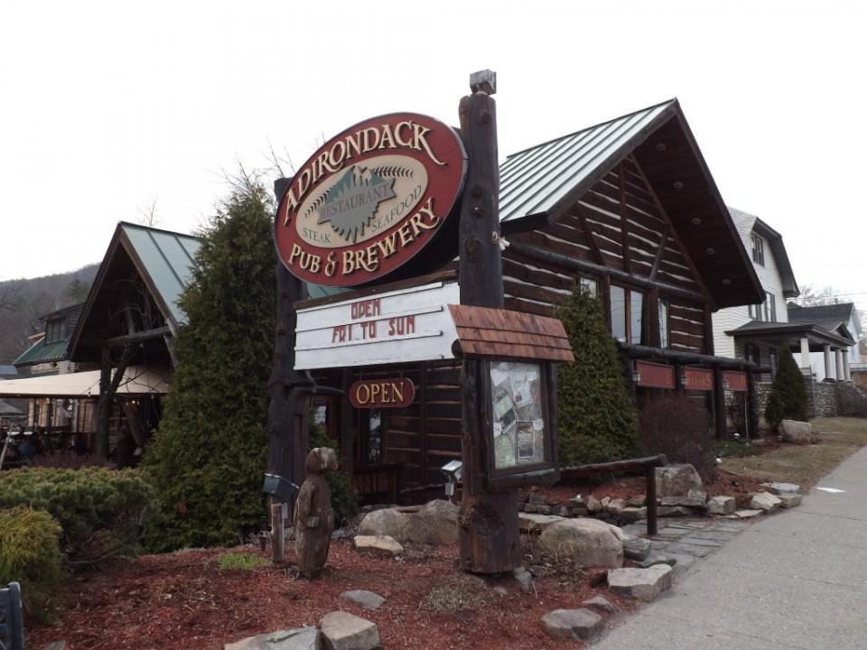 Adirondack Pub & Brewery logo
