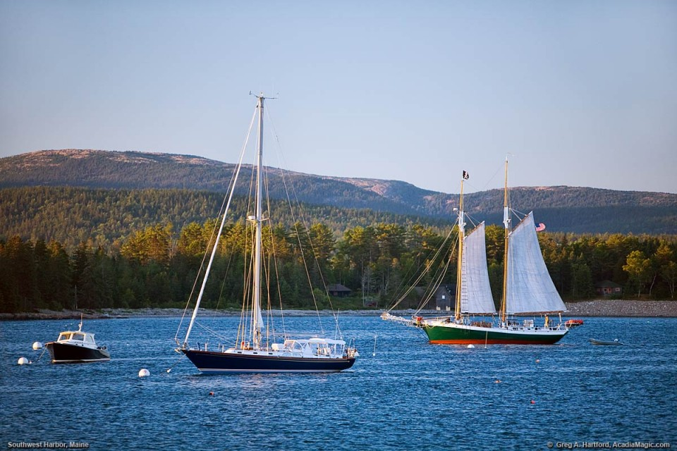 Southwest Harbor, Maine logo