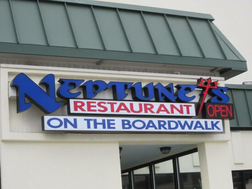 Neptune's restaurant logo