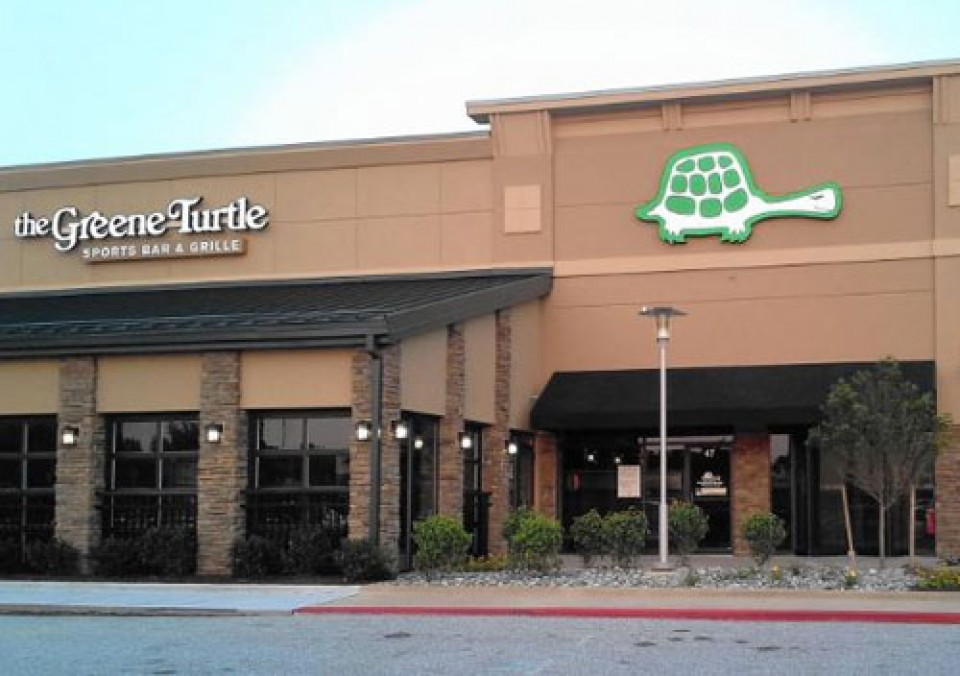 The Original Greene Turtle Sport Bar & Grill logo