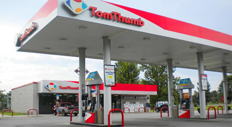 Tom Thumb gas station logo