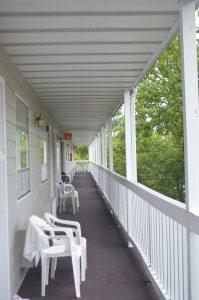 Studentski motel u Bransonu, MO.