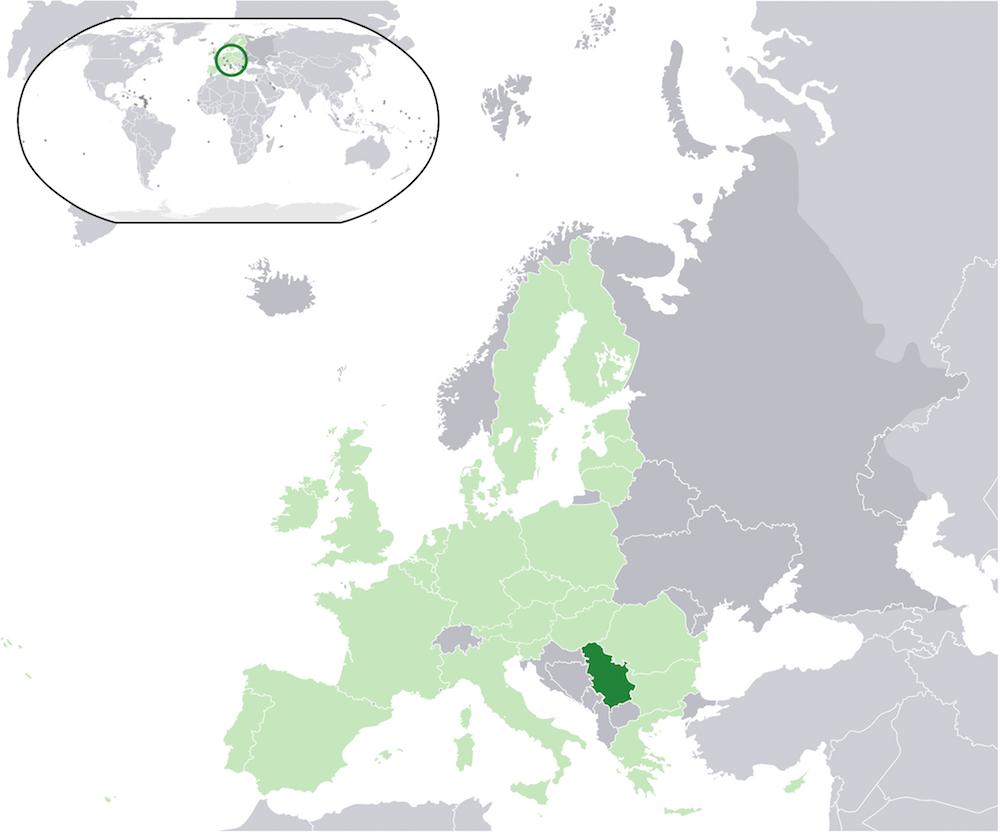 Serbia in Europe | Wikipedia