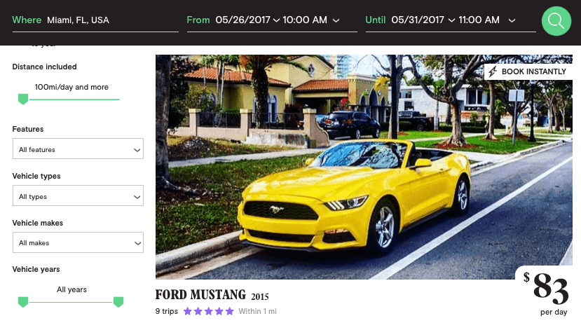 Ford-Mustang-2015-cheap-rentals
