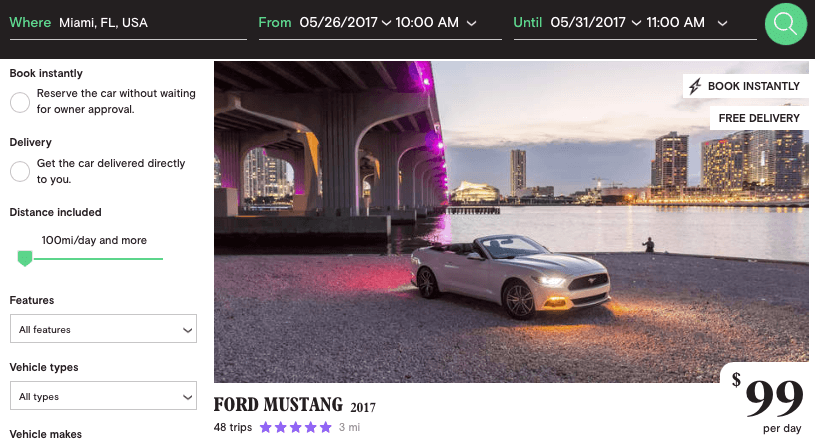 Ford-Mustang-2017-cheap-rentals