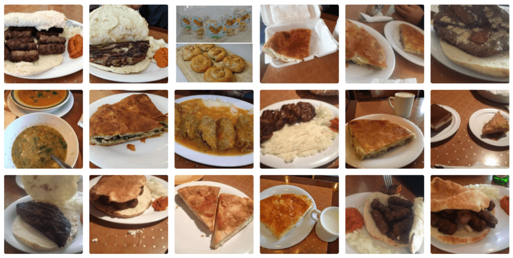 Djerdan Burek, Screen Shot of food from Yelp page of the restaurant