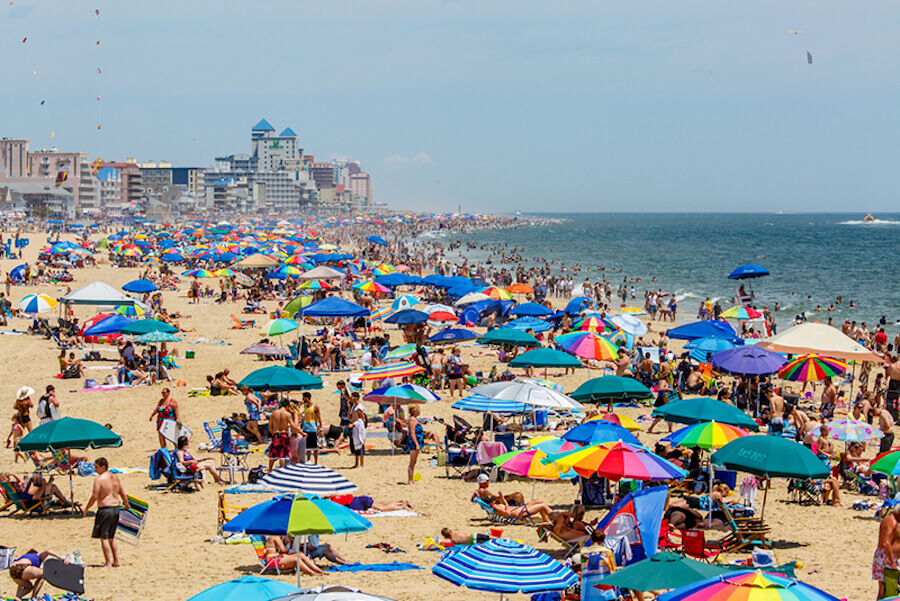 Ocean City Beach – Ocean City, Maryland | Credits: Baltimore Magazine