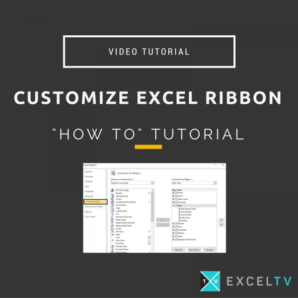 Customize Excel Ribbon – Change Case of Text