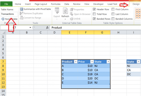 Excel Tips - Tables and Structured References - Excel TV