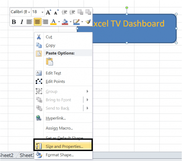 Excel Prevent Buttons, Shapes and Objects from Resizing