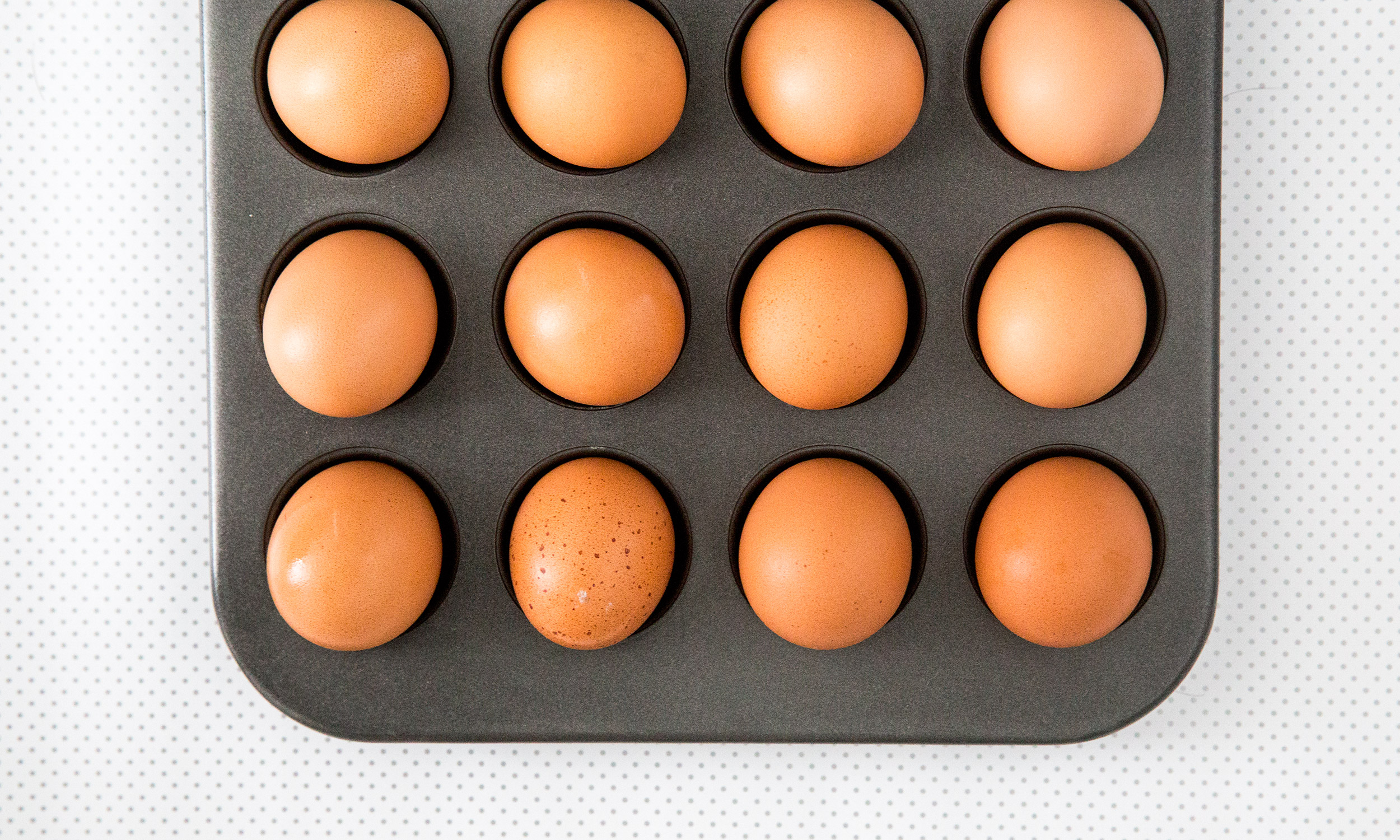 How to Make 24 HardBoiled Eggs in the Oven at Once  Extra Crispy