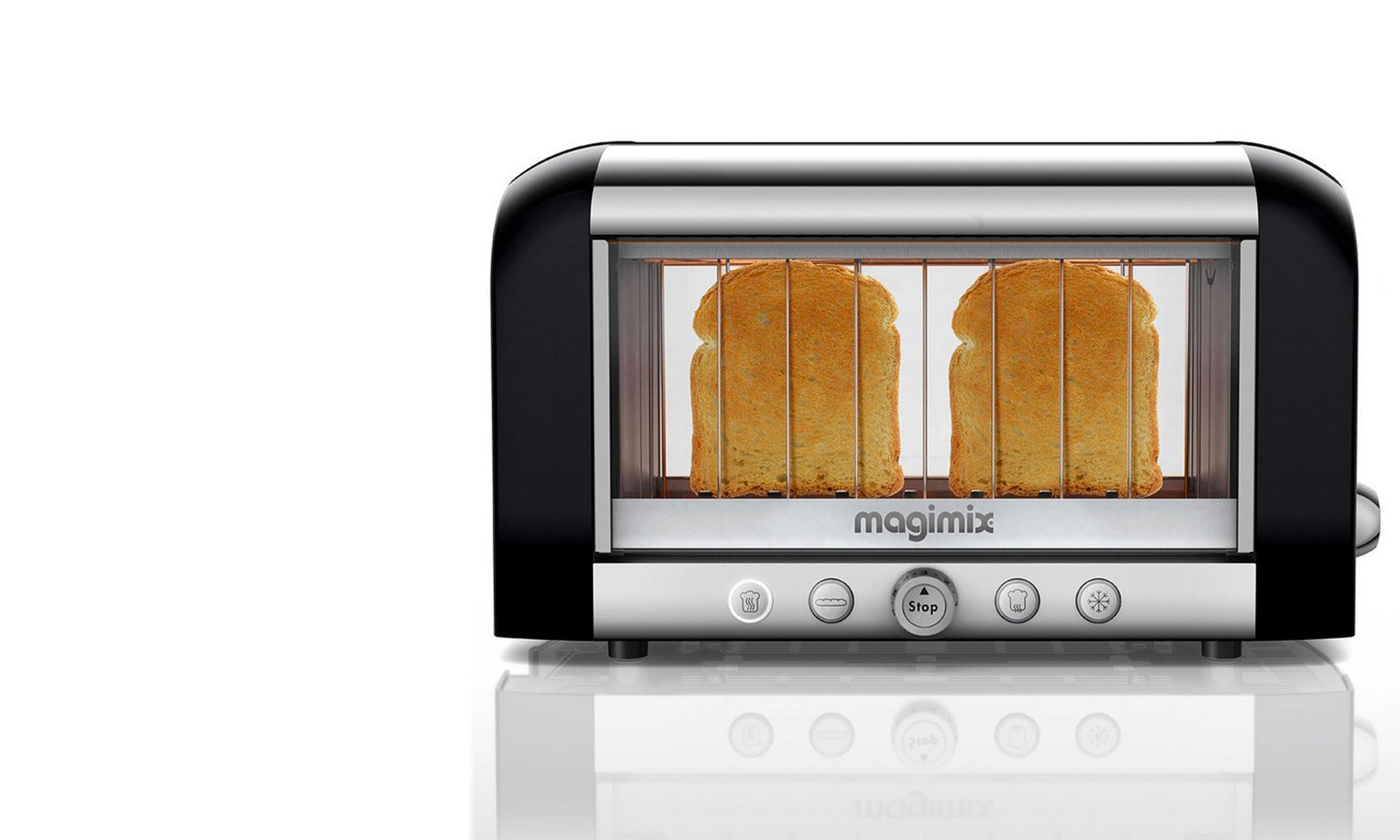 This Glass Toaster Lets You Make Perfect Toast Every Time