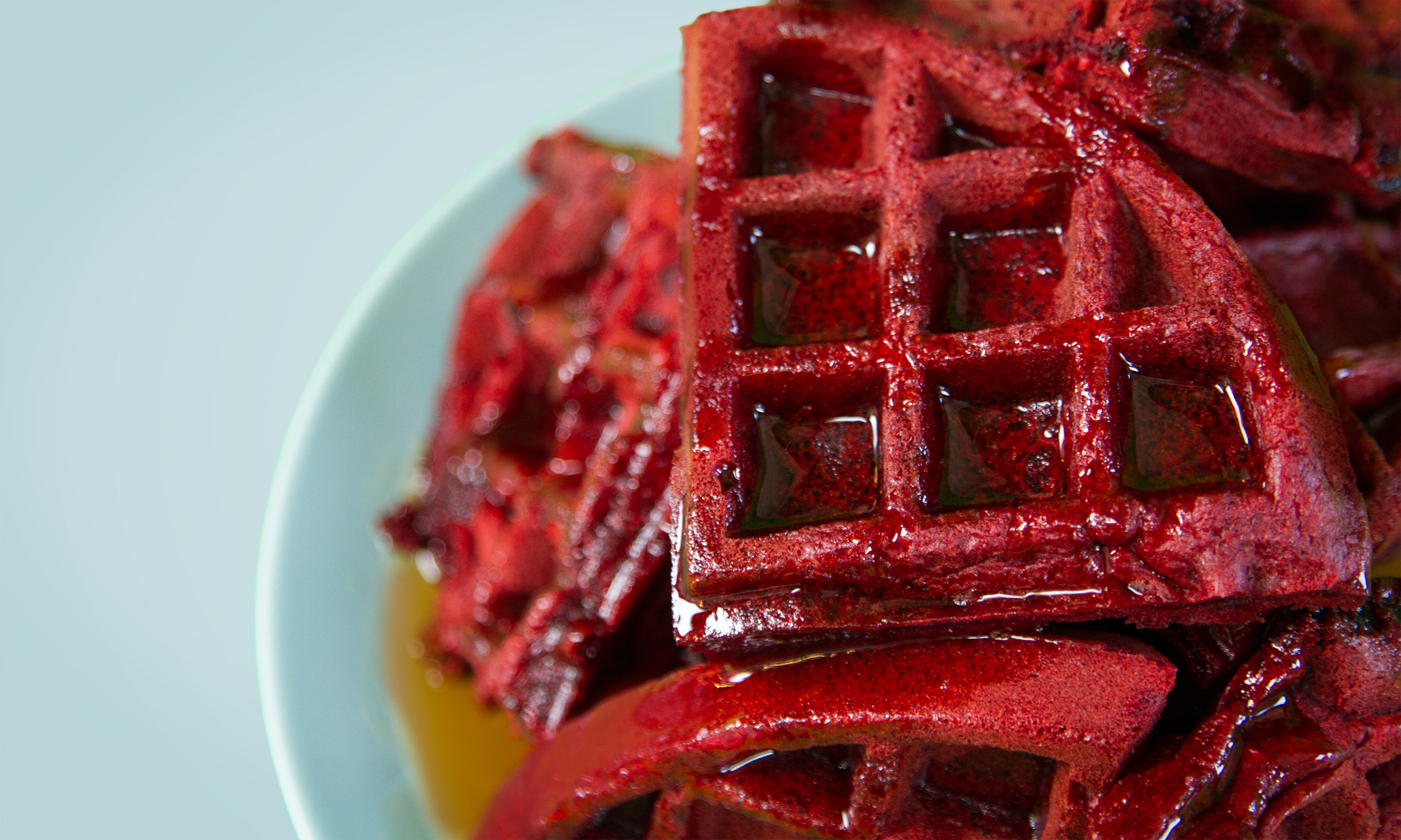 Red Velvet Waffles Recipe With Cake Mix