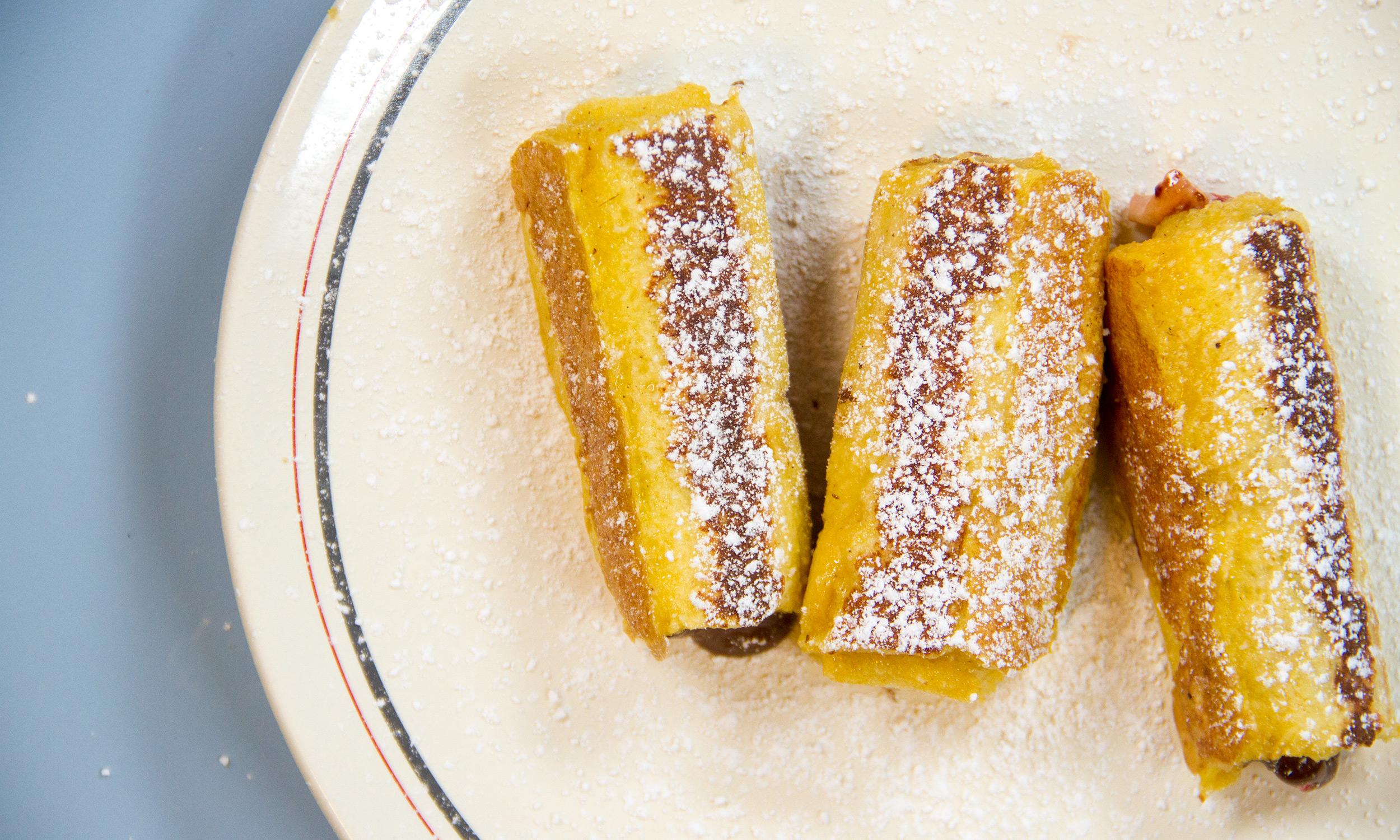 Strawberry Nutella French Toast Rollups (because You Deserve Joy)  Extra  Crispy