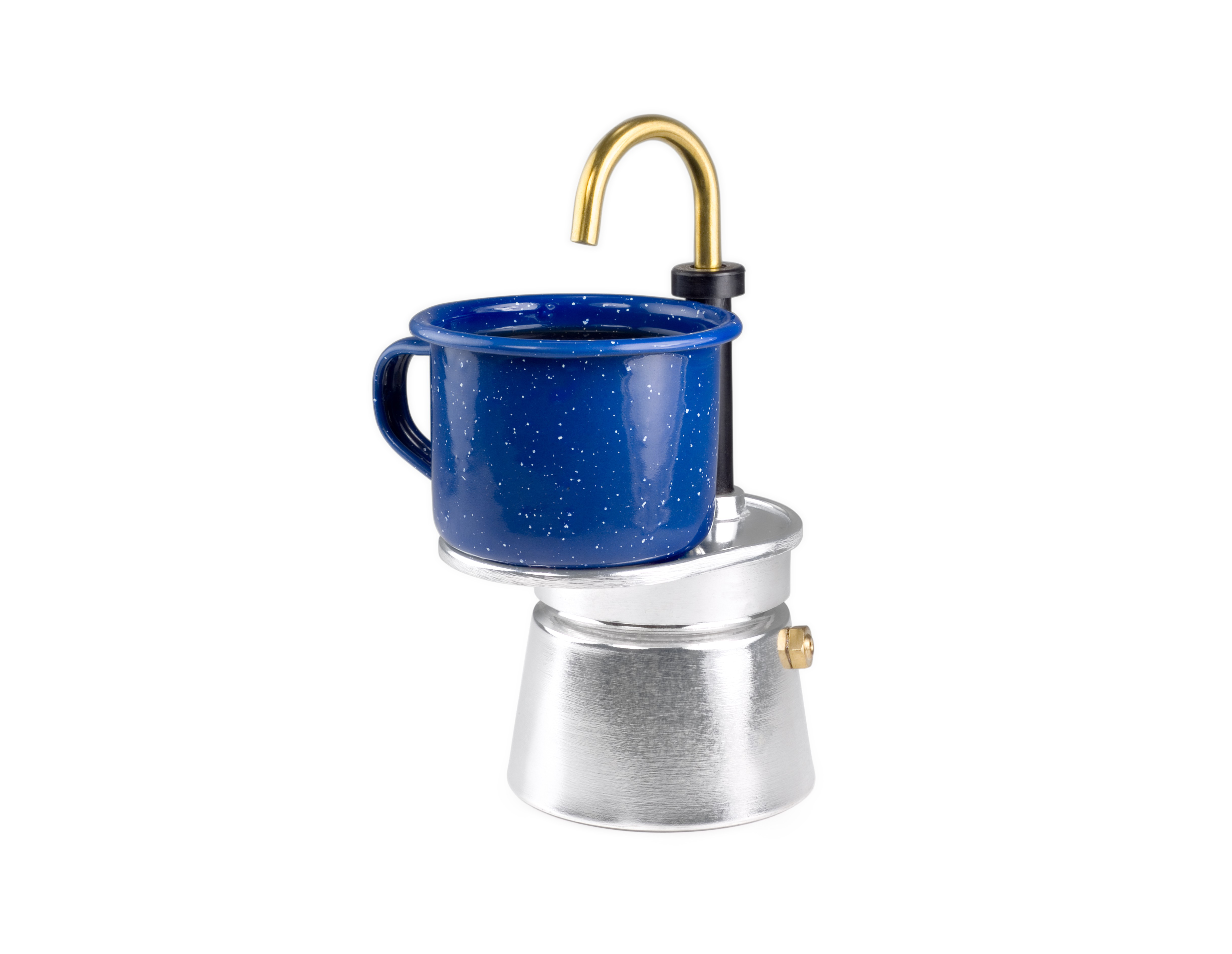 This camping espresso maker is a genius kitchen space - Space saving coffee maker ...