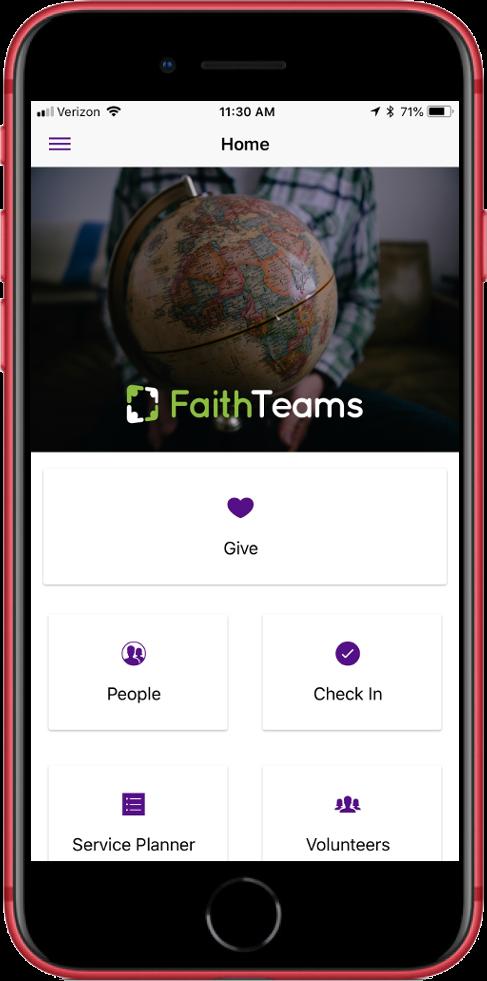 Faith Teams Mobile Free App